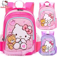 Hellokitty书包小学生女1-3-4年级可爱减负护脊凯蒂猫儿童背包女