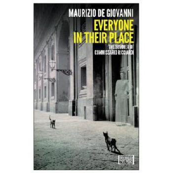 【预订】Everyone in Their Place: The Summer of Commissario Ricciardi 美国库房发货,通常付款后3-5周到货!