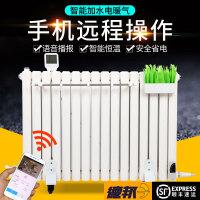 加水电暖气片家用智能温控注水取暖器使用晾衣架毛巾架钢制散热器 0.6m