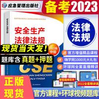 备考2021 注册安全工程师2020 安全生产法律法规教材 注安师 注册安全工程师2020全套教材 中级注册安全工程师2