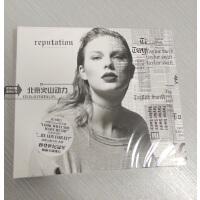 霉霉 Taylor Swift 泰勒史薇芙特 Reputation名誉 CD+歌词本 音乐CD 泰勒斯威夫特 专辑