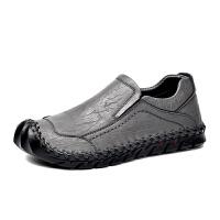 男士商务休闲皮鞋青少年驾车豆豆鞋学生小皮鞋潮时尚一脚蹬懒人鞋