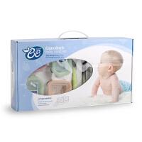 韩国进口Glasslock婴儿宝宝辅食钢化玻璃饭盒微波炉保鲜迷你6件套