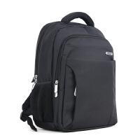 14寸电脑背包防水尼龙双肩包业务OL大学生书包时尚简约男包