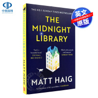 现货英文原版 午夜的图书馆 平装便携版 The Midnight Library 马特・海格 Haig Matt 深夜图