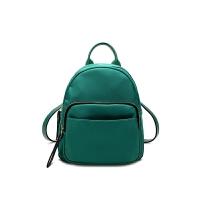 迷你双肩包女潮新款韩版时尚百搭休闲牛津布小背包学生书包包 绿色 少量先拍先发