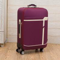 帆布拉杆箱20寸小商务密码箱女26牛津布行李箱30寸大容量旅行箱男