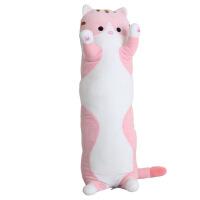 ?猫玩偶毛绒玩具长条抱枕猫咪娃娃公仔枕头可爱女生懒人睡觉抱女孩
