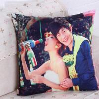 定做沙发靠垫 创意个性DIY靠枕头结婚庆生日礼物 照片抱枕定制