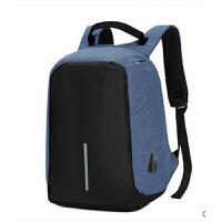 防盗背包旅行商务电脑包男士双肩包男学生书包大容量登山包户外包