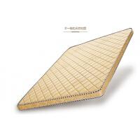 天然椰棕偏硬棕垫儿童 单人 双人 薄床垫可定制折叠床垫 金色