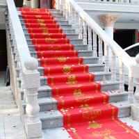 婚庆结婚一次性红色进门地毯婚礼布置楼梯装饰道具创意红地垫路引