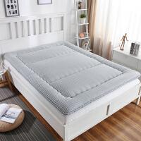 榻榻米床垫1.5m1.8米学生单双人宿舍加厚褥地铺睡垫折叠定制订做