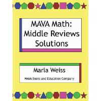 【预订】Mava Math: Middle Reviews Solutions