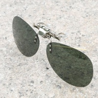 太阳镜夹片偏光镜夹片墨镜夹片钓鱼镜司机镜男女太阳眼镜片
