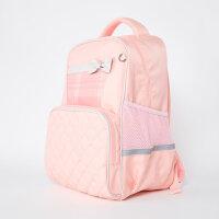 【1件2.7折约:64.5】moomoo童装儿童书包新款女童粉色轻便减负双肩背包