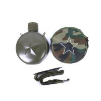 不锈钢真空军训户外304不锈钢保温杯户外运动水壶水杯双层