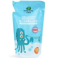 英国小树苗婴儿洗衣液新生儿童宝宝专用衣物清洁橙油500ML袋装