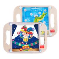 TOI 儿童手掌上滚珠走珠玩具宝宝户外亲子早教礼物3-4-5-6周岁
