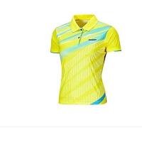KAWASAKI川崎羽毛球T恤 女式川崎女子专业羽毛球T恤ST-16202