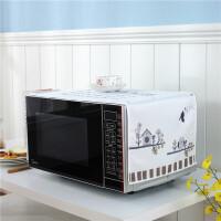 韩版 流行元素 格兰仕微波炉罩子防尘罩冰箱巾盖布电烤箱罩套子