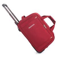 新款牛津布拉杆包休闲旅行包折叠行李箱包男女大容量拉包外出商务手提包便携旅游托运包