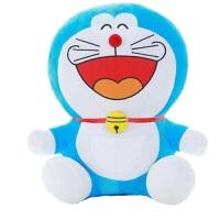 哆啦a梦公仔蓝胖子毛绒玩具机器猫玩偶叮当猫大号娃娃生日礼物女 经典 大笑款