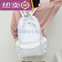 香港潮牌韩国明星同款书包女日韩版高中学生双肩包学院防水小清新校园背包