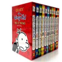 现货英文原版少儿童书小屁孩日记小说1-11本全套装漫画励志成长书籍小说 中小学课外读物 儿童英语教学故事书Diary