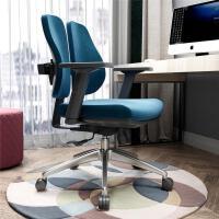 电脑椅家用 舒适久坐办公椅 人体工学双背椅健康椅现代简约学习椅
