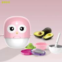 BERZ手动食物研磨器婴儿宝宝辅食儿童Q萌研磨器碗果蔬泥料理工具