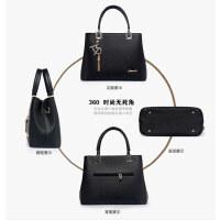 手提包女韩版包包2018新款妈妈包包中年大气百搭夏季女包斜挎包