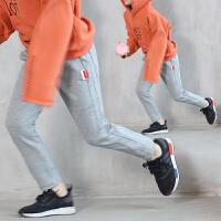 中大童装12岁15男童宽松运动裤春秋装裤子长裤儿童2018新款韩版潮