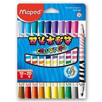 马培德MAPED 20色双头水彩笔 儿童绘画文具彩色画笔套装 847010CH