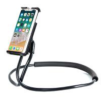 懒人支架床头手机架多功能通用宿舍床上个性创意挂脖子折叠夹SN1910