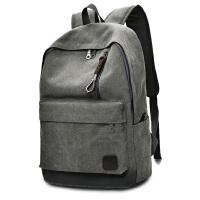 双肩帆布背包初高中大学生书包男女旅行李大容量电脑