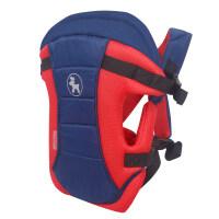 BabyDeer新生儿抱带多功能 三合一婴儿背带背巾小孩背袋宝宝背带a358 海军系列