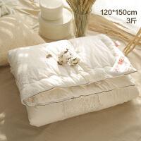 儿童棉被宝宝新生婴儿花被芯幼儿园被子厚款秋冬季 3斤 120*150