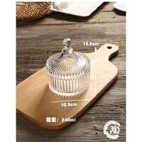 欧式复古璃糖果罐 储物罐干果罐礼物创意家居装饰器皿 手饰盒