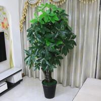 仿真发财树植物假花客厅假树大型落地花艺塑料花盆景盆栽装饰