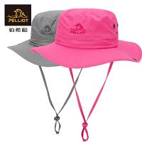 法国伯希和户外防晒帽 男女遮阳帽夏季渔夫帽折叠太阳帽旅游帽子