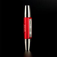 照玉石专用强光手电筒 白黄紫光珠宝鉴定USB充电 赌石双头四光源 黑色四光源 四光源 红色