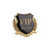 加大VIP车贴汽车金属车标贴3d立体个性创意车身用品大全装饰贴纸