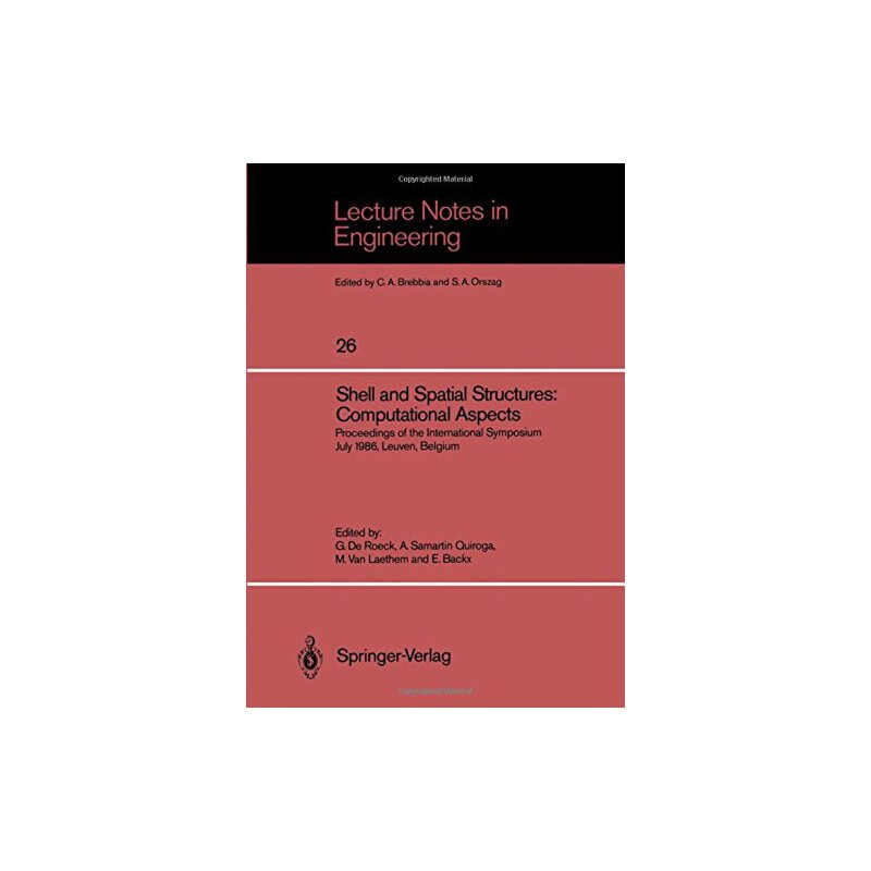 【预订】Shell and Spatial Structures: Computational Aspects: Procee... 9783540174981 美国库房发货,通常付款后3-5周到货!