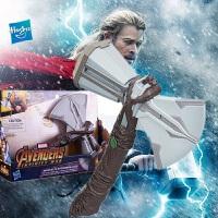 孩之宝复仇者联盟3电影系列雷神之锤索尔之斧E0617发声雷霆音效 雷神3雷神之锤B9975