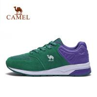 camel 骆驼户外运动鞋男女缓震防滑运动鞋舒适低帮鞋情侣越野跑鞋