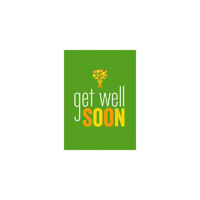【预订】Get Well Soon9781849534208 美国库房发货,通常付款后3-5周到货!