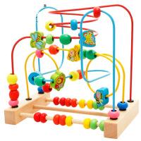 【支持礼品卡】儿童串珠绕珠早教婴儿玩具6-12个月宝宝益智力玩具0-1-2岁3周岁5nt