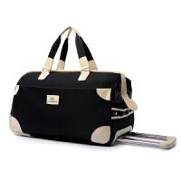 男女手提旅行箱 拉杆箱包大容量牛津布行李箱旅游包袋登机箱