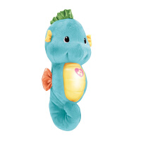 [当当自营]Fisher Price 费雪 声光安抚海马-蓝色 婴儿玩具 DGH82